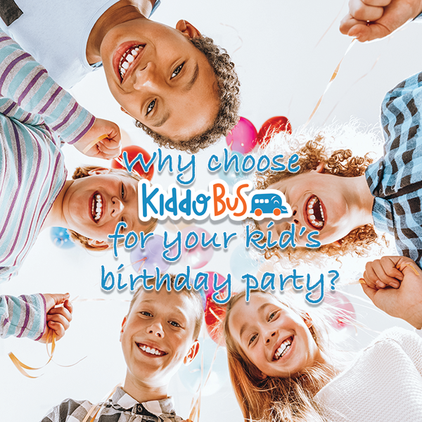 Why Choose Kiddo Bus for Your Kid's Birthday Party?-Kiddobus