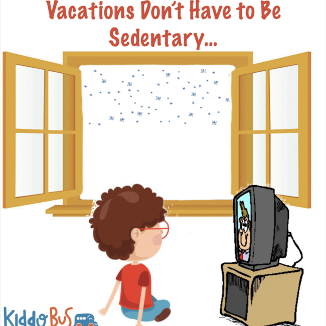 How to Keep Your Kids Active Over Winter Vacation-Kiddo Bus